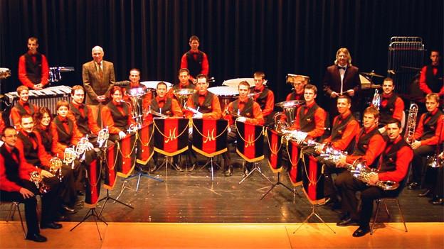 Das Ensemble de Cuivres Mélodia gehört beim «Swiss Open Contest» zum 10 Band starken Teilnehmerfeld.
