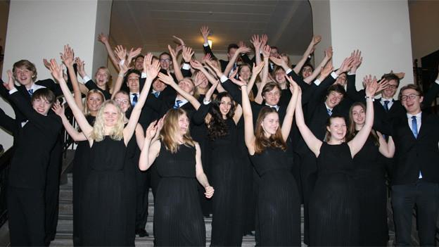 Chor des Stockholmer Musikgymnasiums