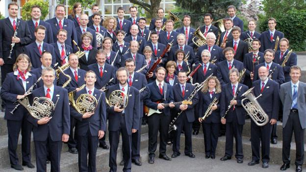 Das Blasorchester der SBB besteht aus mehr als 50 Amateurmusiker.