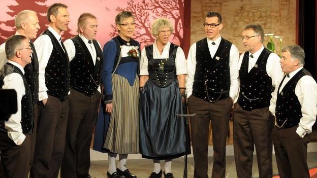 Das Wäber-Chörli Bern feiert 2013 sein 20-jähriges Bestehen.