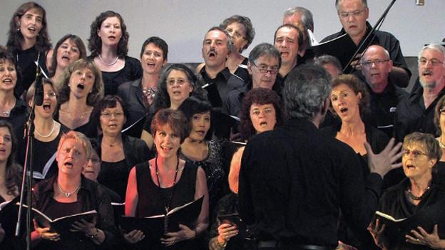 Gesanglicher Wettstreit am Schweizerischen Chorwettbewerb.