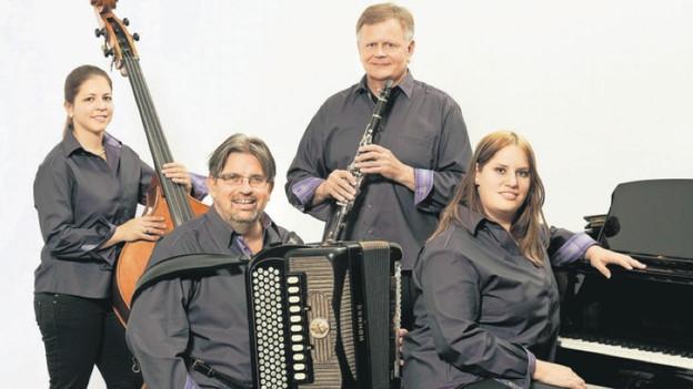 CIGAR-Quartett: Hasi Blattmann, Armin Landtwing, Jacqueline Schmidig-Wachter und Martina Rohrer (v.l.n.r.).