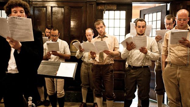 Der innovative Basler Chor «Männerstimmen».