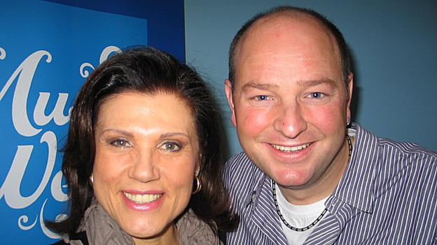 Heinz Wegmüller von Combox zu Gast bei Maja Brunner in der Hit-Welle.