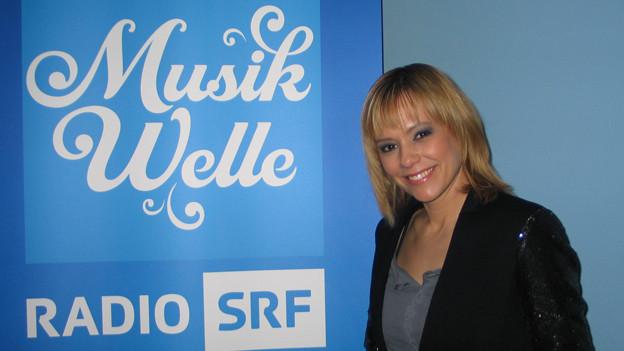Francine Jordi zu Gast im Musikwelle-Studio