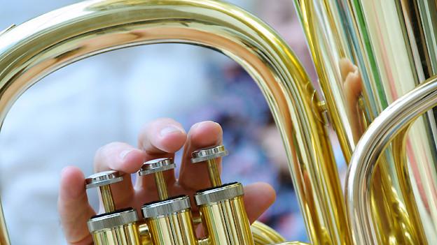Nebst Trompete und Posaune ist die Tuba eines der unverzichtbaren Instrumente für böhmische Blasmusik.