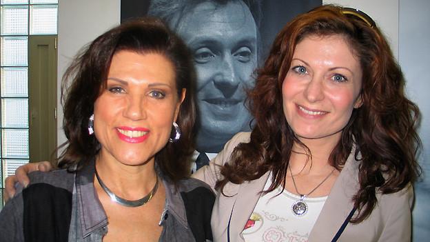 Maja Brunner hat als Gast in der Hit-Welle die österreichische Schlagersängerin Allessa empfangen.