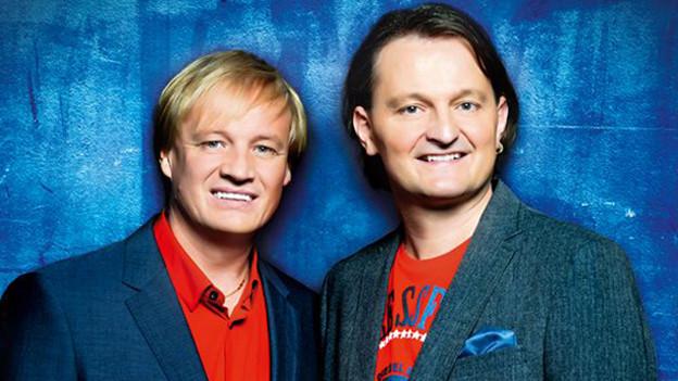 Das Repertoire der beiden Tiroler reicht von diskothekentauglichen Titeln bis hin zu melodiösen Schlagern.