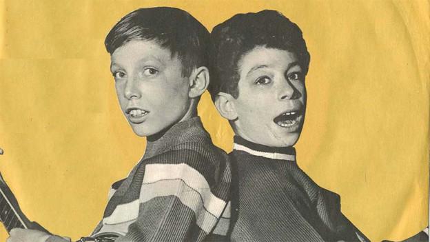 Jan & Kjeld auf dem Plattencover zur Single «Banjo Boy».