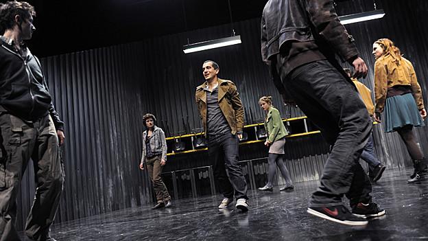 Die Premiere findet am 08. März im Theater der Künste an der Gessnerallee 9 in Zürich statt