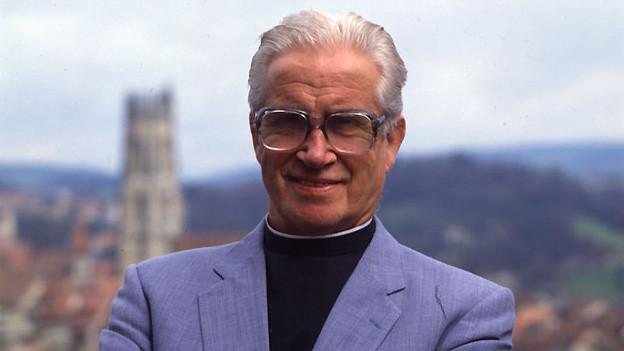 Pierre Kaelin war mitunter der Begründer des Chors «Chanson de Fribourg».
