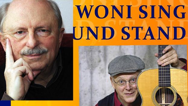 Die Autoren Uli Führe und Stefan Pflaum und ihr Liederbuch.