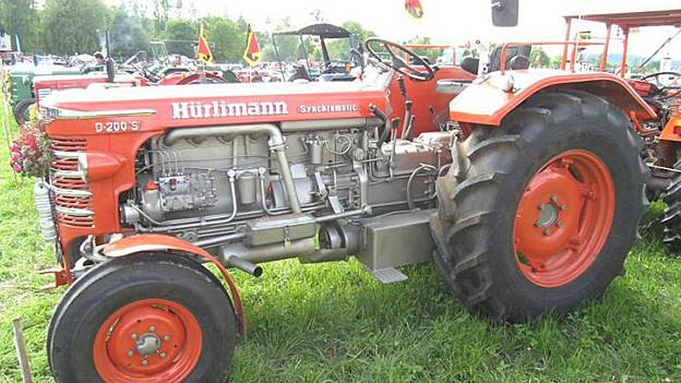 Hürlimann D200 Jahrgang 1951/1952. Kam auch bei der Armee zum Einsatz.