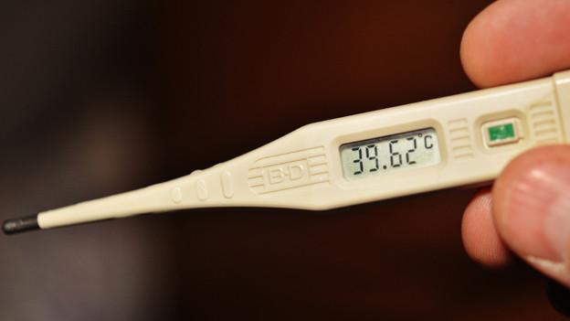 Die rektale Messmethode ist bei Fieber immer noch am genausten.