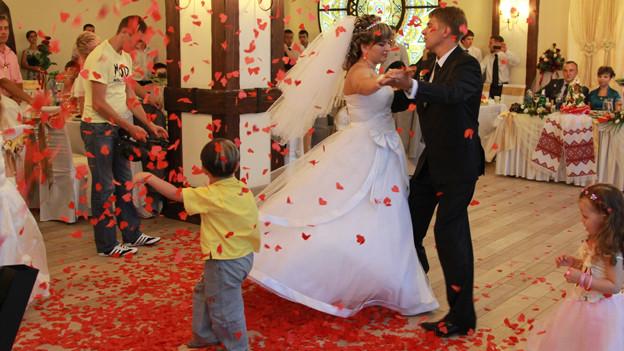 Jedes grosse Fest galt früher als Hochzeit.
