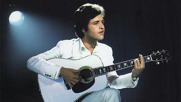 Joe Dassin auf dem Cover seines Albums «Les 100 plus belles chansons».