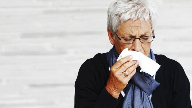 Erkältungen sind zwar lästig aber oft schnell überstanden.