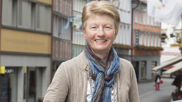 Franziska Raschle ist die Initiantin des Erzählcafés.