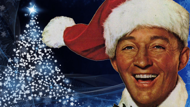 Bing Crosby im Film «White Christmas» 1954.