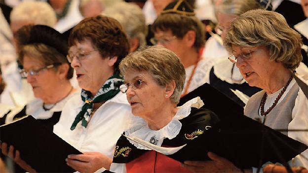 Auftritt vom Bündner Seniorenchor «CANZIANO!».