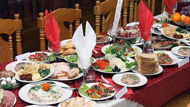 Ein freundliches «Guten Appetit» gehört zum guten Ton bei Tische.