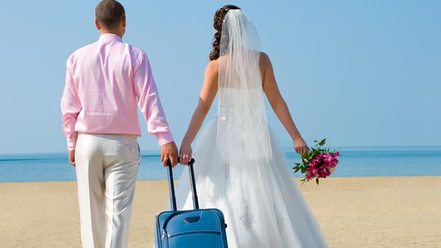 An die Flitterwochen werden ebenso hohe Erwartungen gesteckt wie an die Hochzeit selber.
