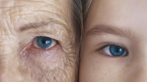 Man kann blaue Augen haben ohne «blauäugig» zu sein.