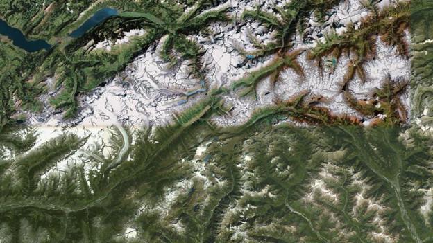 Wird der Anteil an Landesfläche der Schweiz unterschätzt?