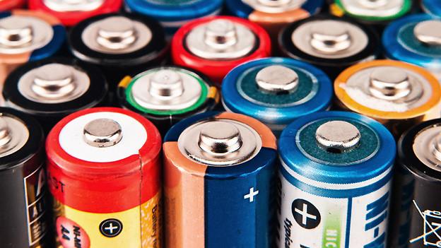 Batterien als nützliche Stromlieferanten.