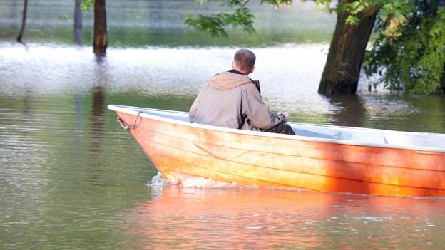 Bis Anfang 19. Jahrhundert brachte man «schiffen» mit Bootfahren in Verbindung.