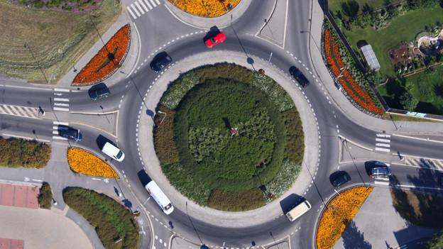 Dank Kreiseln rollt der Verkehr flüssiger.