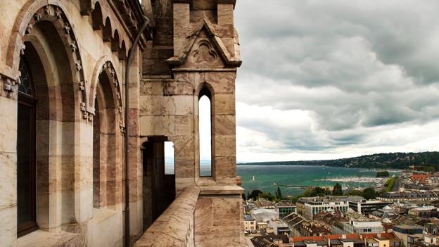 Kathedrale St. Pierre in Genf.