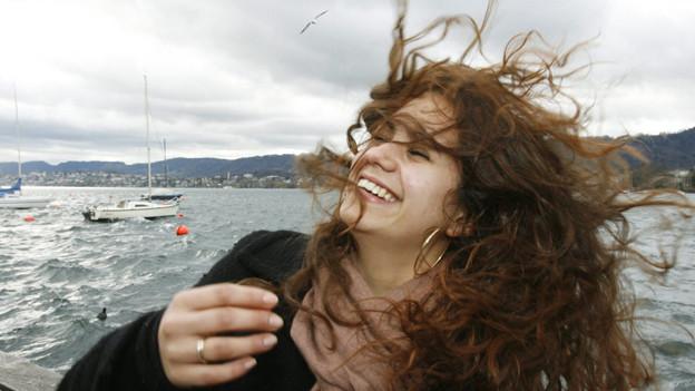 Orkan Kyril wurde 2009 zum Unwetter. In Zürich war er nur leicht spürbar.
