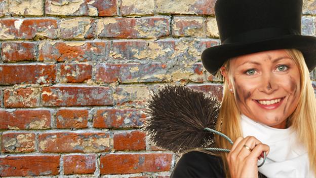 Der Schornsteinfeger gilt nebst Kleeblatt oder Sparschwein als Glücksbringer.