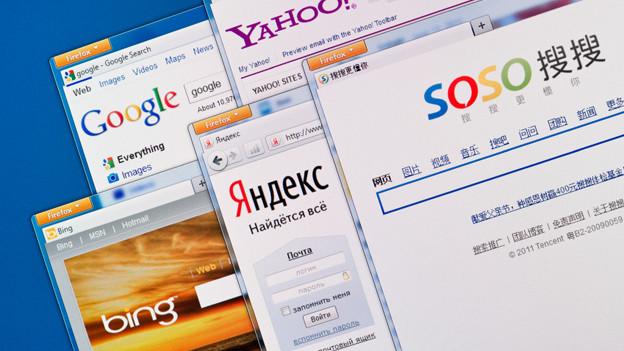 Ob Google oder Yahoo: Suchmaschinen machen sich in Windeseile auf die Suche nach gewünschten Informationen.