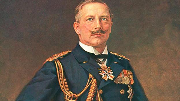 Preussische Korrektheit kann auch anecken (Bild von Kaiser Wilhelm II).