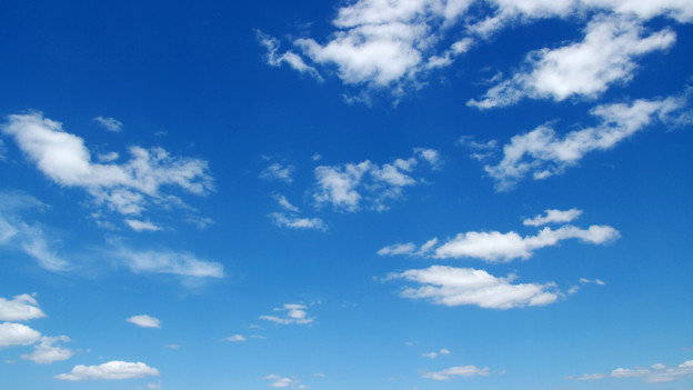 Ohne Flugzeuge wäre der Himmel blauer.
