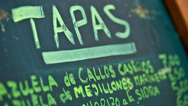 Spanischkurs «Uno, dos, tres...», um zu verstehen was im Urlaub auf der Speisekarte steht.