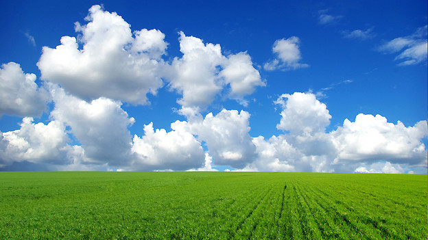 Die Geschwindigkeit des Wolkenzugs liefert dem Meteorologen wichtige Informationen zu den Höhenwinden.