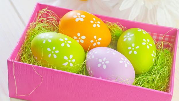Süssigkeiten an Ostern kommen nie aus der Mode.