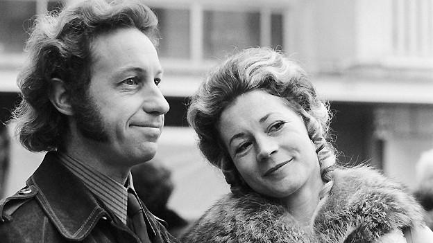 Das Schweizer Kabarettisten-Ehepaar Ceésar Keiser und Margrit Läubli, aufgenommen am 13. November 1971.