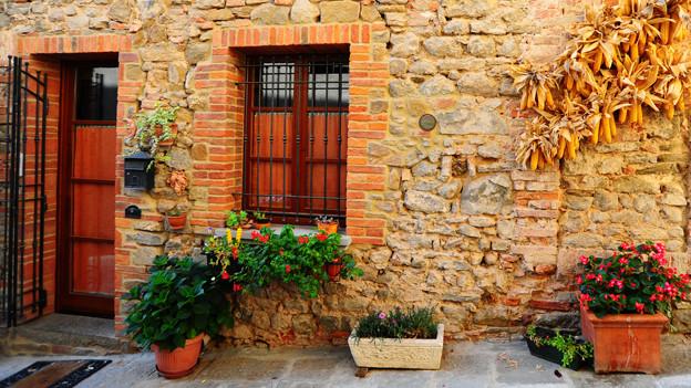 Ein schmuckes Häuschen in Italien bietet häufig Platz für mehrere Generationen.