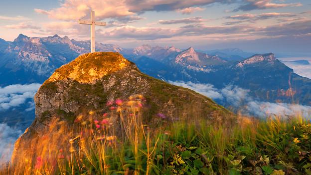 So unterschiedlich die Landschaft in der Schweiz ist, so unterschiedlich sind auch die verschiedenen Dialekte.
