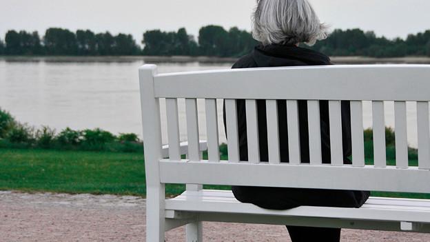 Die Furcht vor Einsamkeit im Alter ist gross