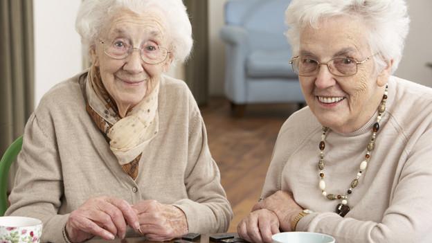 Die Lebenserwartung in der Schweiz steigt ständig an.