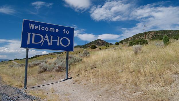 Idaho: Der zweitletzte amerikanische Bundesstaat durch den der Oregon-Trail führt.