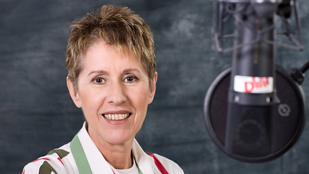 Langjährige DRS-Volksmusikredaktorin Katrin Hasler.