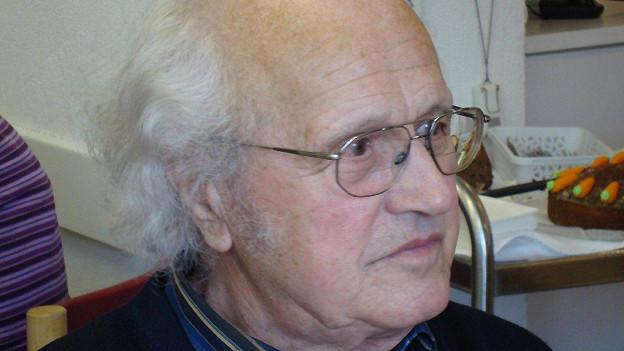 Georges Däscher ist 88 Jahre alt und ein sehr geselliger Mann