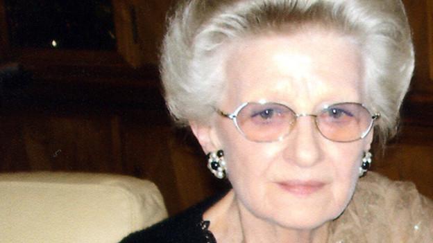 Die 79-jährige Erna Schürch lebt heute im Elfenaupark in Bern.