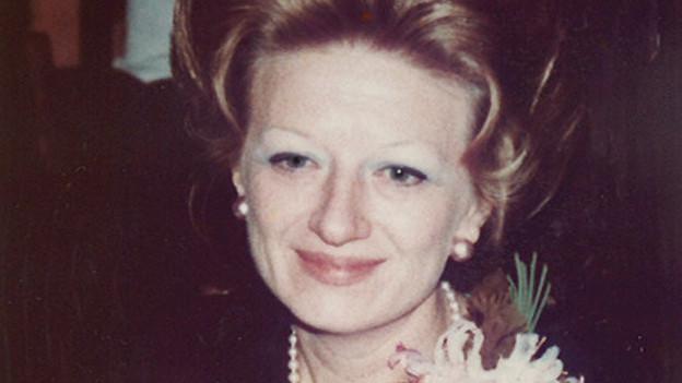 Erna Schürch in jungen Jahren, nachdem sie sich in der Schweiz nieder gelassen hat.